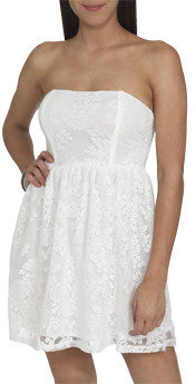 Wet Seal WetSeal Lace Bar Back Dress Mint