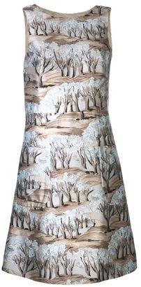 Marni tree print dress