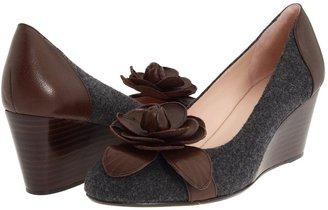 Taryn Rose Kayla (Grey/Dark Brown) - Footwear
