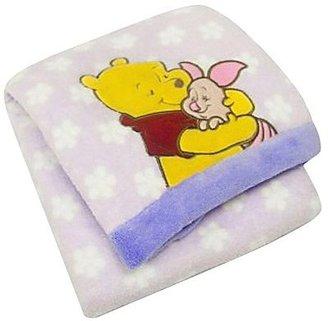 Disney Winnie the Pooh Printed Boa Blanket - Girl