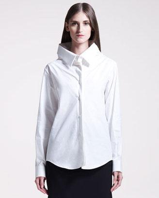Maison Martin Margiela Exaggerated Poplin Shirt