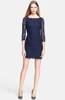 Women's Diane Von Furstenberg 'Zarita' Lace Sheath Dress $348 thestylecure.com