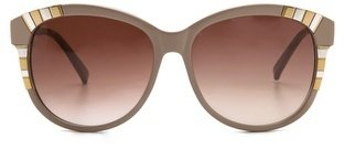 Cat Eye Heidi London Oversized Sunglasses