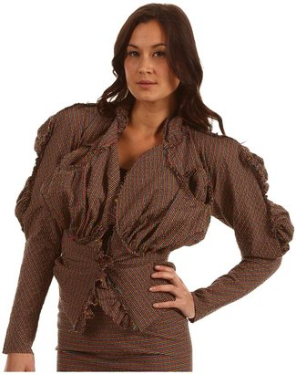 Vivienne Westwood Cocoon Jacket (Multi/Black/Pink) - Apparel