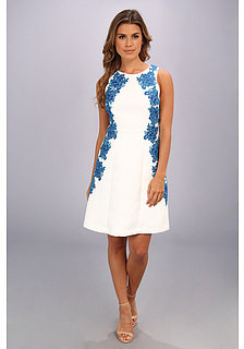 Ivy & Blu Maggy Boutique Sleeveless Textured Jacquard Fit & Flare