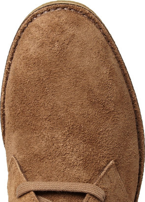 Bottega Veneta Crepe-Sole Suede Boots