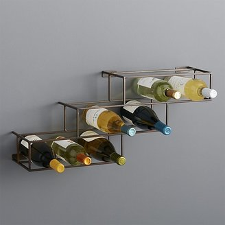 Crate & Barrel Matrix 12-Bottle Wine Rack