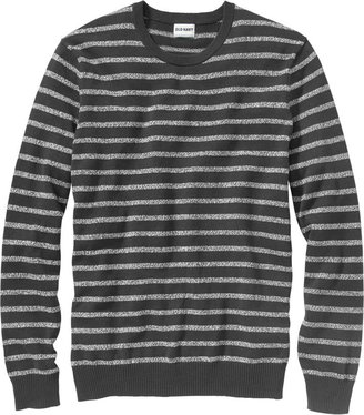 Old Navy Men's Marled-Stripe Crew-Neck Sweaters