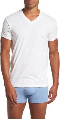 2xist Pima Cotton Slim Fit V-Neck T-Shirt