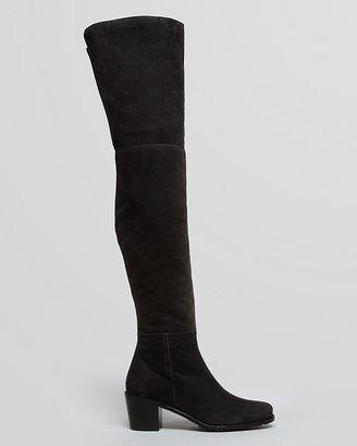 Stuart Weitzman Over The Knee Boots - Hitest Mid Heel