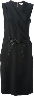 Helmut Lang twisted neck dress