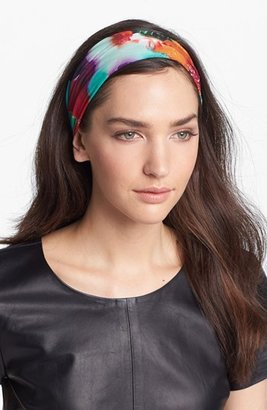 Tasha 'Patchwork Paint' Head Wrap