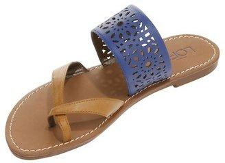 LOFT Valyn Perforated Slide Sandals