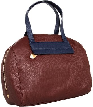 Pour La Victoire Vernon Duffle (Oxblood/Navy) - Bags and Luggage