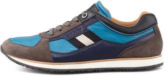 Bally Oklahoma Low-Top Sneaker, Bright Blue