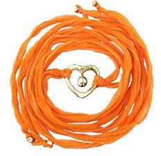 Ettika Peace in Love Silk Wrap Bracelet