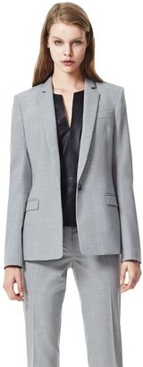 Theory Dancey Blazer in Reedly Stretch Virginwool