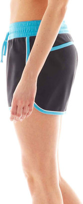 JCPenney Xersion Piped Tricot Training Shorts