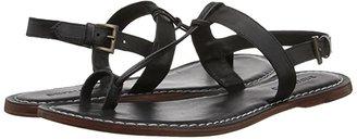 Bernardo Maverick (Black Nappa Leather) Women's Sandals