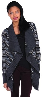 Romeo & Juliet Couture Long Sleeve Sweater Cardigan