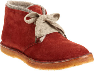 Barneys New York CO-OP Wool Lined Chukka