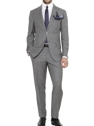 Canali Open Weave Wool Suit