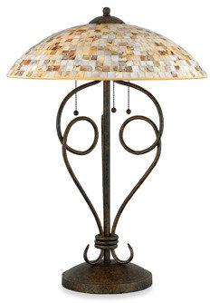 Quoizel Monterey Mosaic 3-Light Table Lamp
