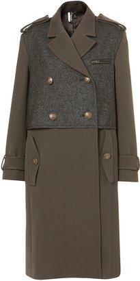 Topshop Premium Military Coat