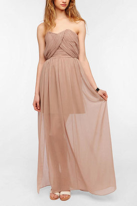 Urban Outfitters ERA By Kymerah Ruby Strapless Maxi Dress