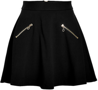 Juicy Couture Ponte Flared Skirt