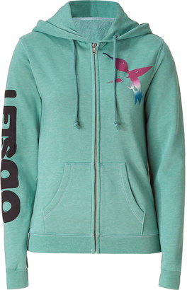 Freecity Free City Mint Green Printed Hoodie