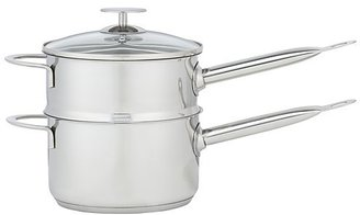 Crate & Barrel Stainless Cookware by Berndes 2 qt. Double Boiler