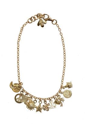 Carolina Bucci Yellow gold Lucky charms bracelet