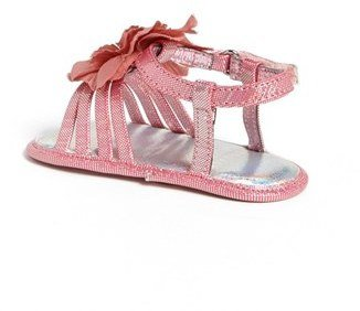 Stuart Weitzman 'Babybuddy' Sandal (Baby)