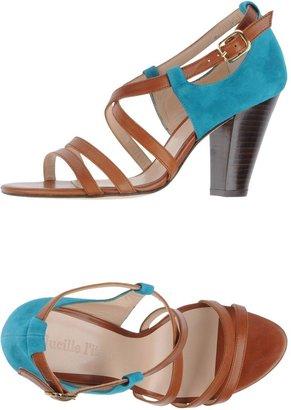 LUCILLE L'ITALIEN High-heeled sandals
