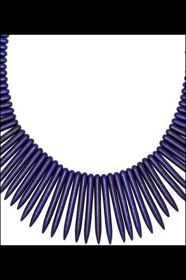 Kenneth Jay Lane Spikes Necklace
