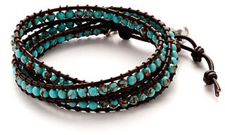 Lucky Brand Turquoise Wrap Bracelet