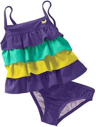 Carter's ruffle 2-pc. tankini swimsuit set - toddler