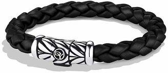 David Yurman Chevron Bracelet in Black $375 thestylecure.com