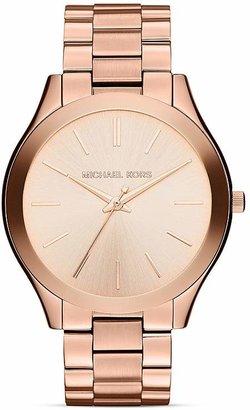 Michael Kors Slim Runway Watch, 42mm $195 thestylecure.com