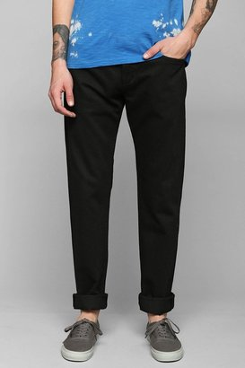 Urban Outfitters A Gold E Straight Jet Black Jean