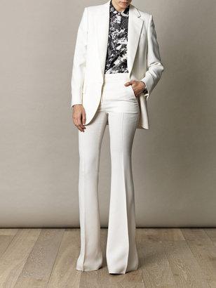 Stella McCartney Bedford fluid trousers