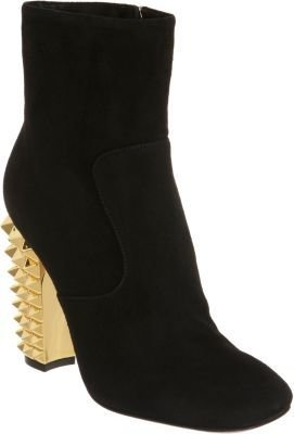 Fendi Polifonia Side Zip Ankle Boot