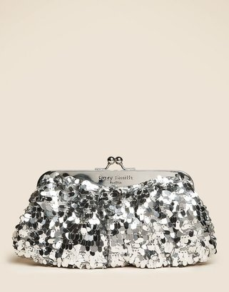 Suzy Smith Sequined Clutch bag