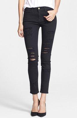Women's Frame Le Color Rip Skinny Jeans $199 thestylecure.com