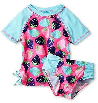 JCPenney Baby Buns 2-pc. Rash Guard Swimsuit - Girls 12m-6y