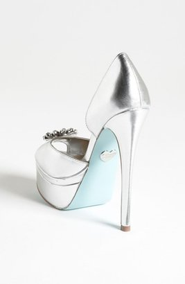 Betsey Johnson Blue by 'Honor' Pump