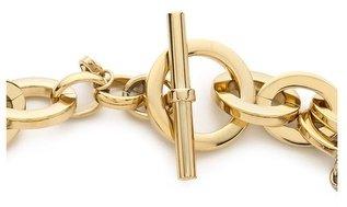 Michael Kors Tortoise Status Link Toggle Necklace