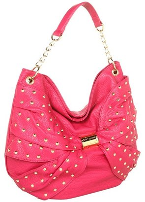 Betsey Johnson Wash Out Hobo (Pink) - Bags and Luggage