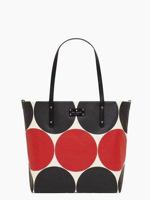 Kate Spade Deborah Dot Bon Shopper Baby Bag
